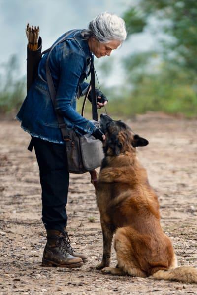 Carol et Dog, The Walking Dead saison 10 épisode 18