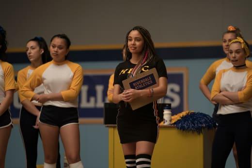 Coach Topaz - Riverdale saison 5 épisode 7