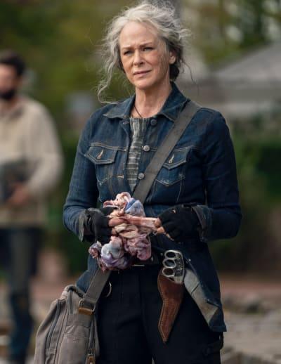 Carol parle à Jerry - The Walking Dead saison 10 épisode 21
