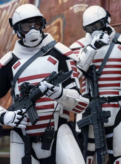 Storm Troopers? - The Walking Dead saison 10 épisode 20