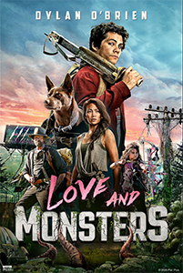 Affiche de Love and Monsters