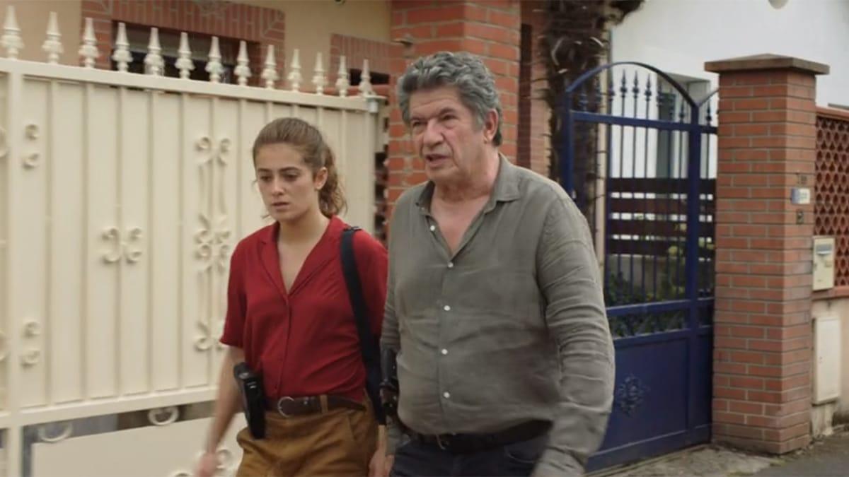 Cécile et Simon dans Meurtres à Toulouse