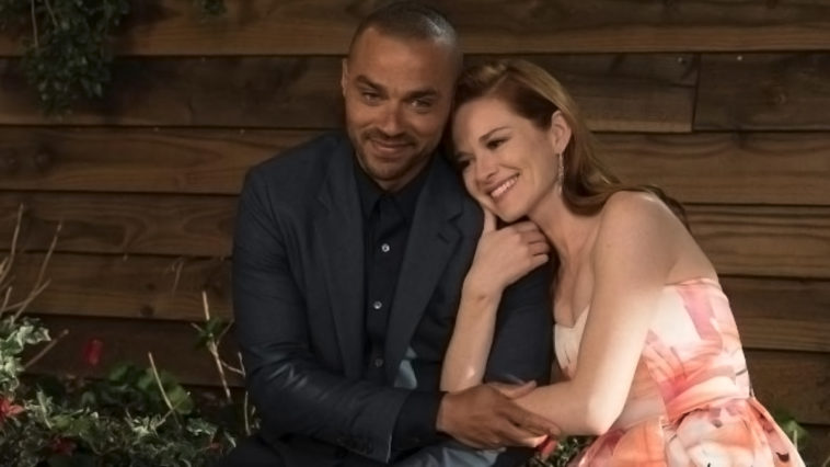 Jackson et April dans Grey's Anatomy