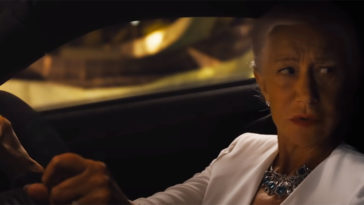 Helen Mirren conduit dans Fast and Furious 9