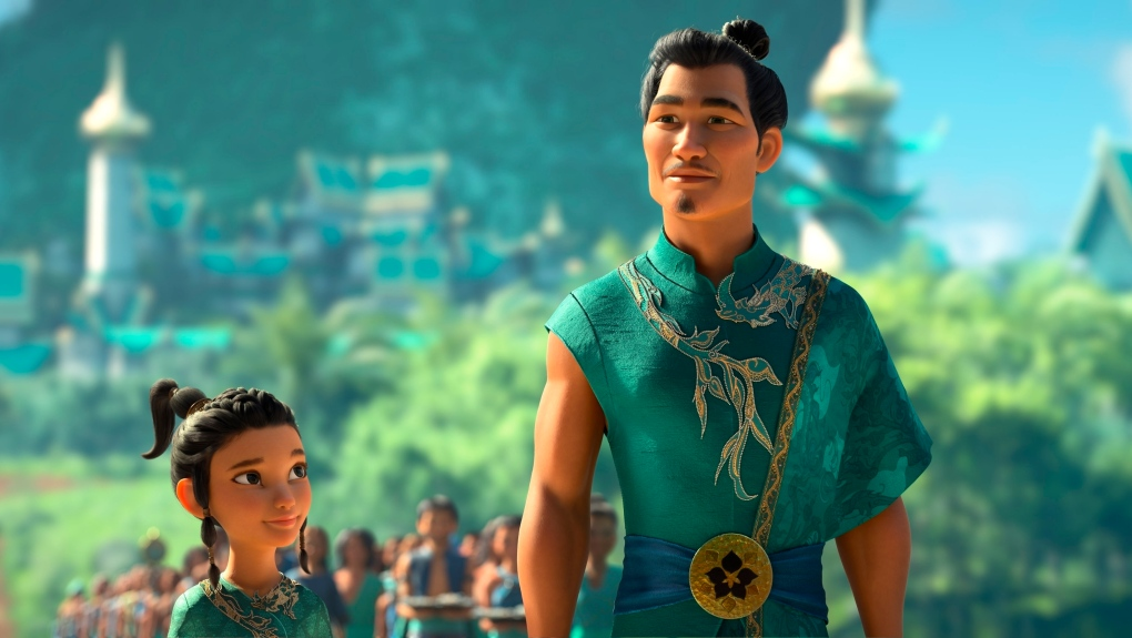 Raya et le dernier dragon - Disney+
