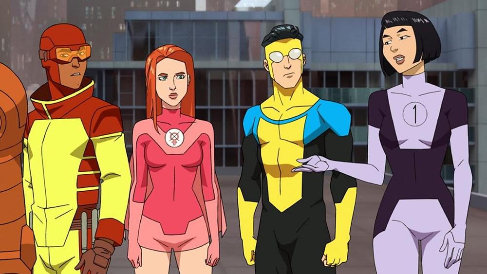 casting de Invincible, série animée amazon