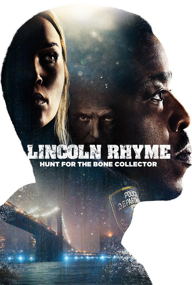Affiche de la série Lincoln Rhyme : à la poursuite du Bone Collector