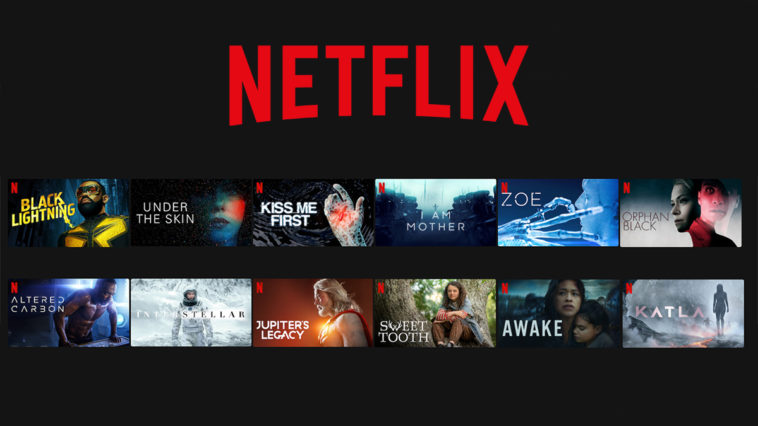 meilleurs films et séries de science-fiction sur Netflix