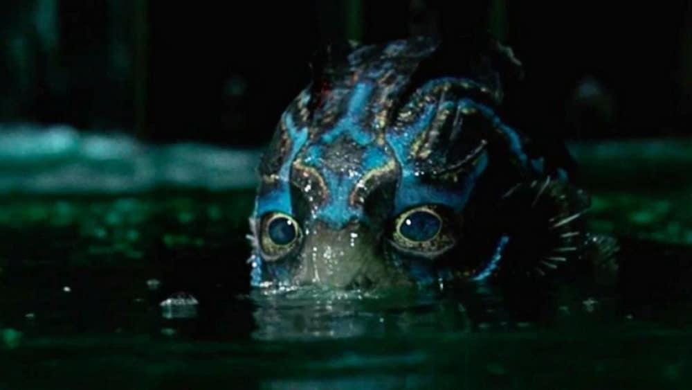 Le monstre dans La Forme de l'eau