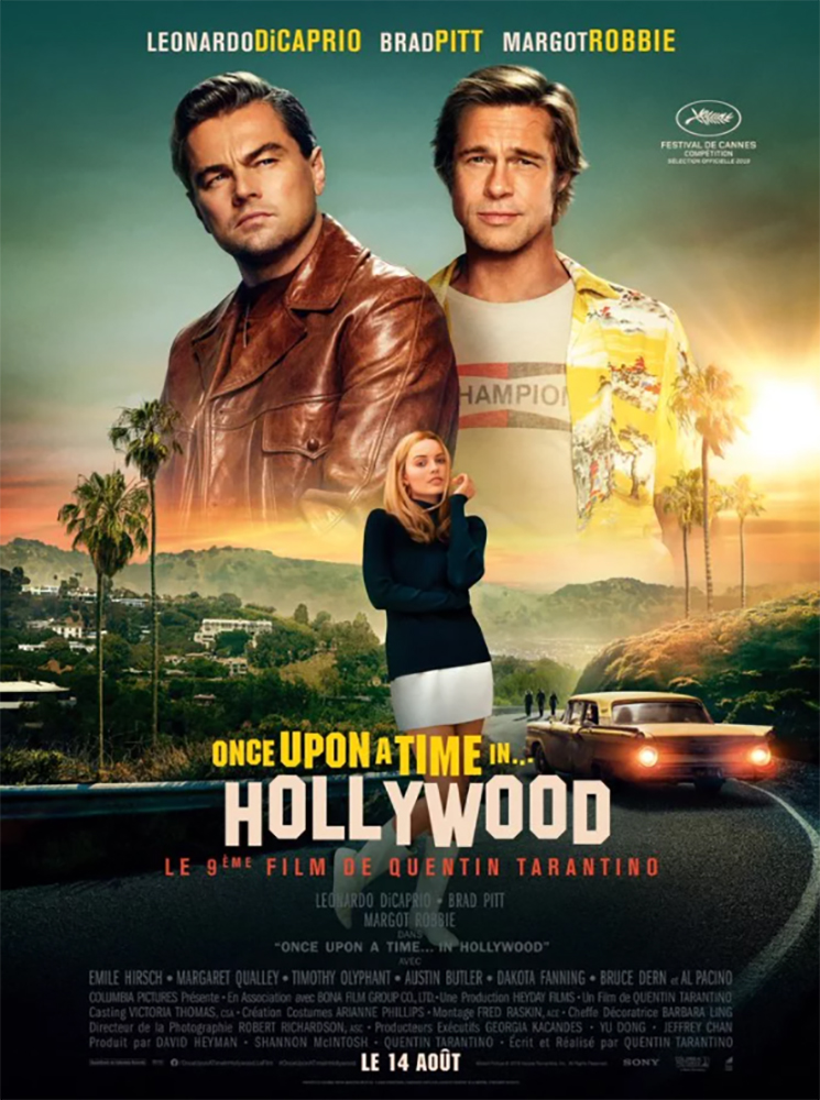 affiche de Once Upon a Time in Hollywood