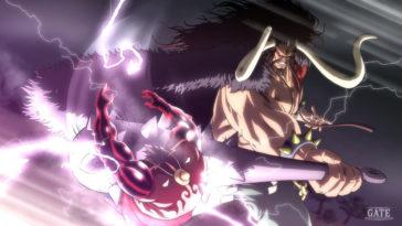 One Piece chapitre 1012, Luffy et Kaïdo