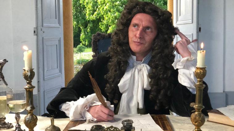 Jean de La Fontaine dans Secrets d'histoire sur France 3