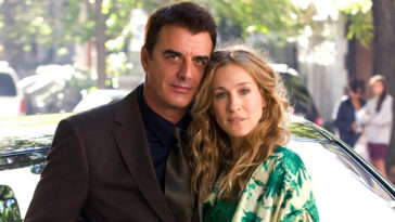 Mr Big et Carrie dans Sex and the City