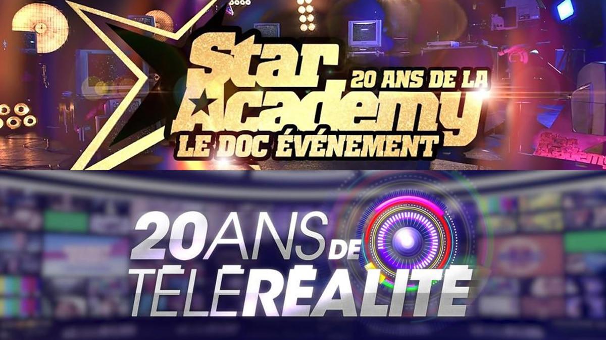 soirée événement TF1, 20 ans Star academy et téléréalité
