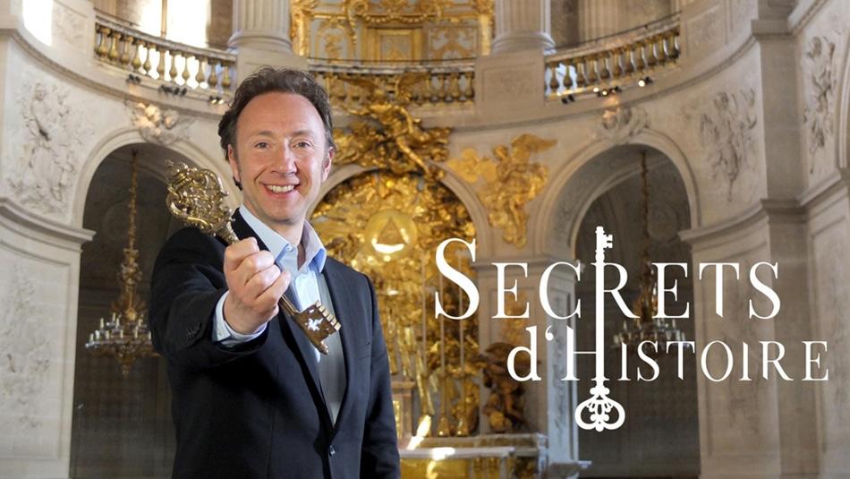 l'émission Secrets d'histoire est présentée par Stéphane Bern