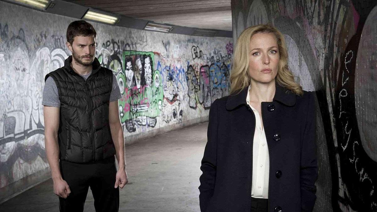 The Fall avec Gillian Anderson et Jamie Dornan sur Chérie 25