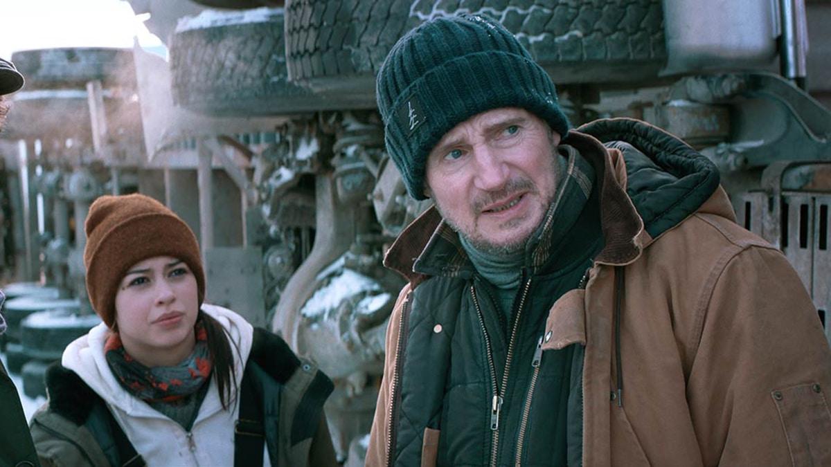 bande-annonce de The Ice Road sur Netflix avec Liam Neeson
