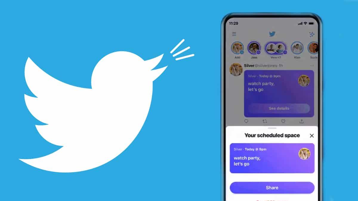 créer et utiliser espaces twitter