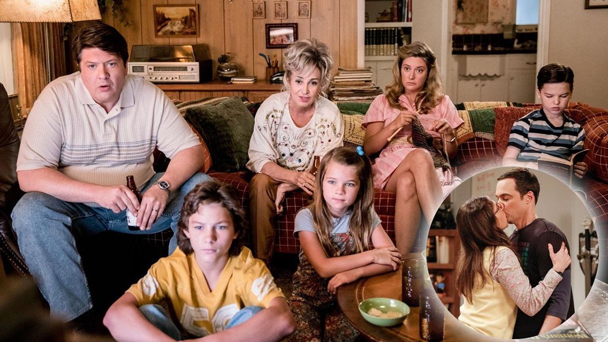 Sheldon et sa famille