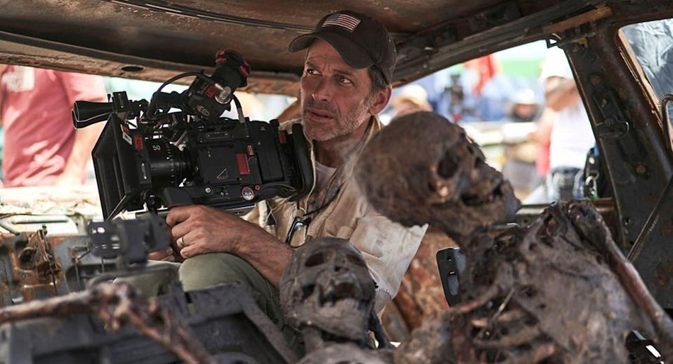 tournage de Army of the Dead