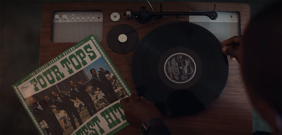 Four Tops, I'll be There dans Lupin partie 2
