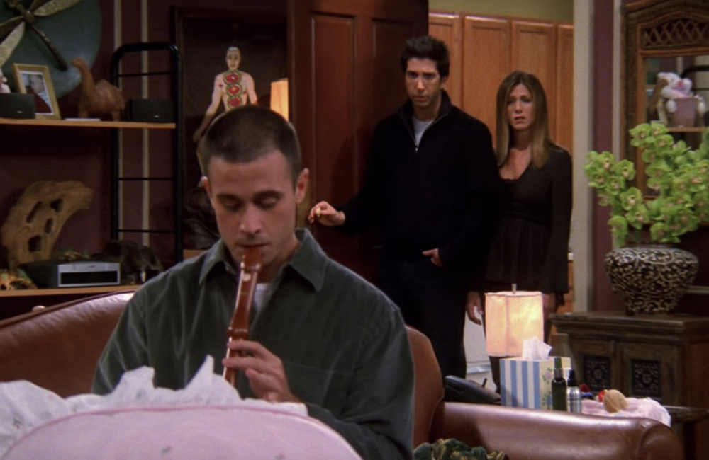 Baby sitter masculin dans Friends