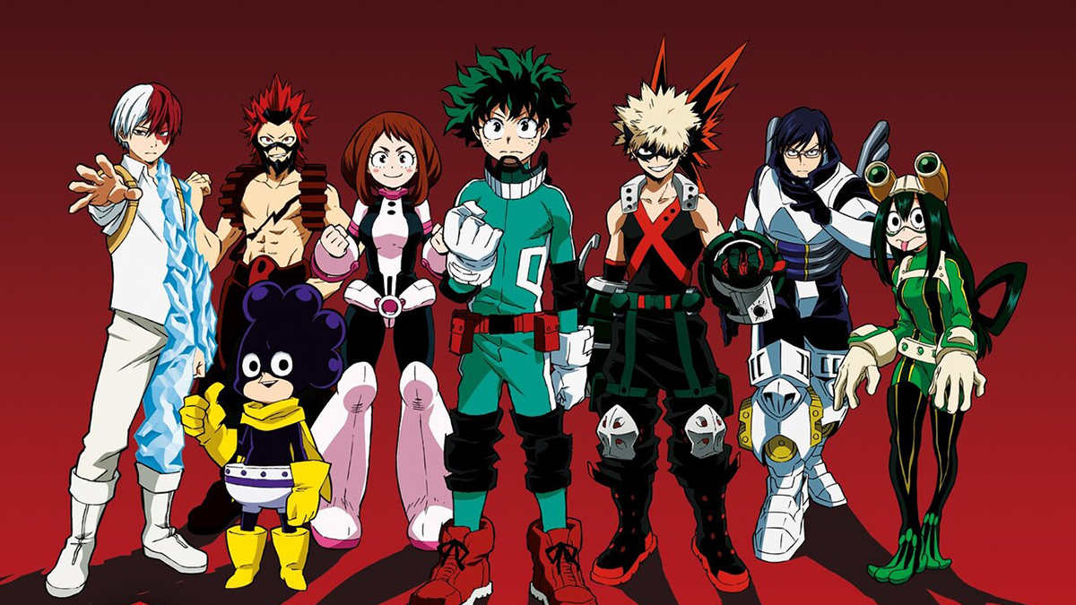 Regarder My Hero Academia en streaming fr