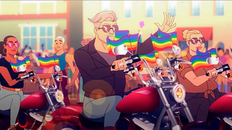 Q-Force la prochaine série animé de Netflix LGBTQ