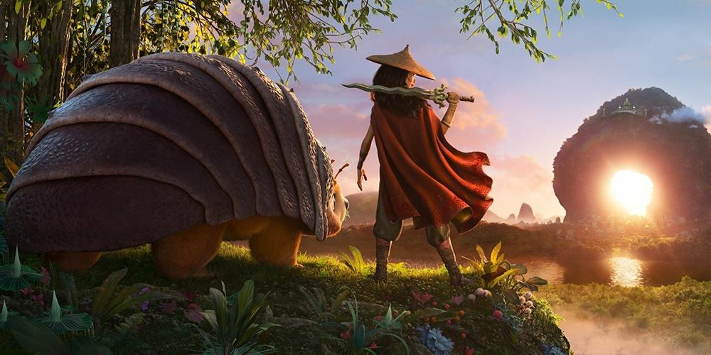 monde différent dans raya et le dernier dragon