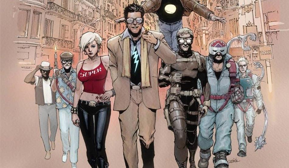 Supercrooks, comics de Mark Millar
