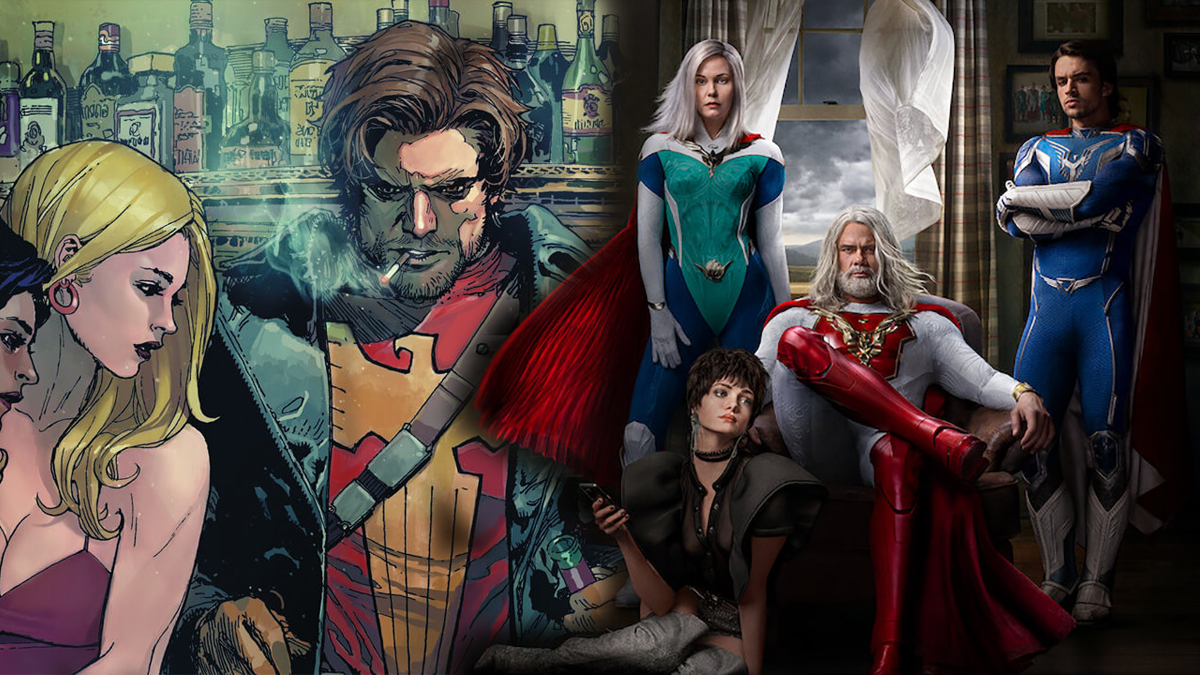 Supercrooks, série Netflix Mark Millar