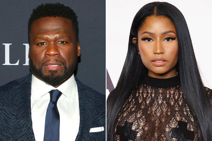 50 Cent and Nicki Minaj